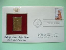 USA 1987 FDC Cover CAPEX Canada - Wildlife - Gold Replica - Black-tailed Prairie Dog - Etats-Unis
