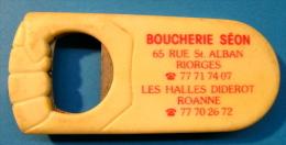 DECAPSULEUR BOUCHERIE SEON 65 RUE ST-ALBAN RIORGES LES HALLES DIDEROT ROANNE - Apri-bottiglie/levacapsule