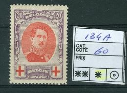 N° 134 A -x  - 1915 - 1914-1915 Cruz Roja