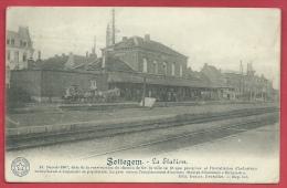 Zottegem - Statie - Feldpost 1914 ( Verso Zien ) - Zottegem