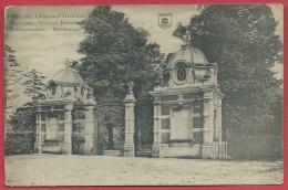 Hemiksem - Hof Van Hemixem - Hoofdingang - 1919 ( Verso Zien ) - Hemiksem