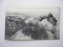 Mitrailleuse Belge En Action Dans Les Dunes Aux Environs De Nieuport - Guerre 1914-18
