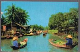 Damnersaduak Floating Market , Rajbury . - Thaïlande
