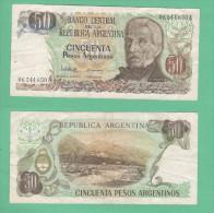 Argentina 50 Pesos San Martin - Argentine