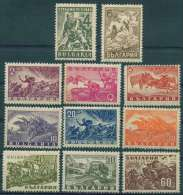 BULGARIA 1946 HISTORY Famous Events PEOPLE WAR - Fine Set MNH - 1945-59 Repubblica Popolare