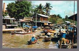 Floating Market , Près De Bangkok . - Thaïlande