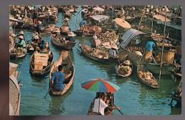 The Floating Market , Bangkok . - Thaïlande
