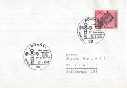 Duitsland - Erstausgabe - 29-5-1964 - Bonn1 -1200 Jahre Benediktinerabtei Ottobeuren - M428 - Abdijen En Kloosters