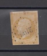 FRANCE 13A Oblitéré Losange Grands Chiffres Cote 40 Euros - 1853-1860 Napoléon III