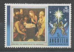 Anguilla 1973 - Natale Dipinto Di Guido Reni Christmas Painting MNH ** - Anguilla (1968-...)
