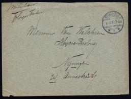 A3166) Netherlands Militär-Brief Von Wormerveer 6.9.1915 Nach Numegen - 1891-1948 (Wilhelmine)