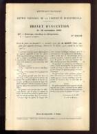 - APPAREILS D'ECLAIRAGE . BREVET D´INVENTION DE 1902 . - Sciences & Technique