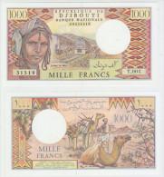 Djbouti 1000 Francs ND Pick 37e UNC - Djibouti