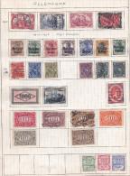 SPLENDIDE LOT DE TIMBRE ALLEMAND DE PAYS D'OCCUPATION REF  16715 - Deutschland
