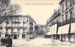 EPINAL 88 - Rue De La Gare Et BANQUE COTONNIERE - CPA - Vosges - Epinal