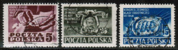 PL 1948 MI 508-10 USED - Used Stamps