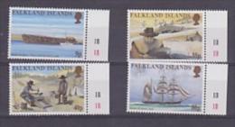Falkland Islands 1999 Californian Gold Rush 4v  (+margin) ** Mnh (23080) - Falklandeilanden