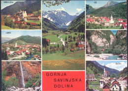 Savinjska Dolina Unused Postcard Bb - Slovenia