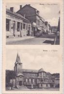 AMAY : Rue De Biber Et L'église - Amay