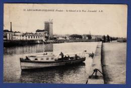 85 SABLES D´OLONNE Chenal Et Tour D´Arundel ; Vedette, Canot - Animée - Sables D'Olonne