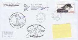 TAAF Enveloppe Alfred Faure - Tazzologue, Crozet 2009 (Petrel Plongeur) - Autres