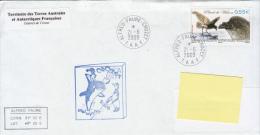 TAAF Enveloppe Alfred Faure - Crozet Midwinter 2009 (Petrel De Wilson) - Autres