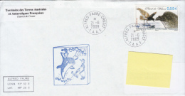 TAAF Enveloppe Alfred Faure - Crozet Midwinter 2009 (Petrel De Wilson) - Terres Australes Et Antarctiques Françaises (TAAF)