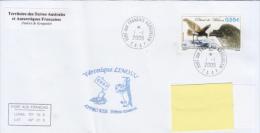 TAAF Enveloppe Port Aux Français Appro Ker 59ème Mission  2009 (Petrel De Wilson) - Terres Australes Et Antarctiques Françaises (TAAF)