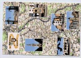 DE NANCY A EPINAL CARTE MULTIVUES - Cartes Géographiques