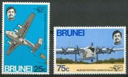 1972 Brunei Hendon Museo Royal Air Force Set MNH** B117 - Brunei (1984-...)