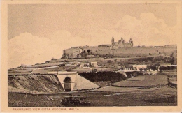 MALTA PANORAMIC VIEW CITTA VECCHIA 141495 - Malta