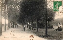 92. Meudon. Allée Longeant Le Mur De La Terrasse - Meudon