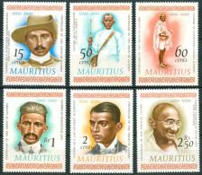 1969 Mauritius Gandi Mahatma Gandhi Set MNH** B159 - Mahatma Gandhi