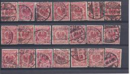 15868) Germany Collection - Oblitérés
