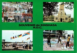 Souvenir De KINSHASA  R.D.C. - Multivues - Kinshasa - Leopoldville