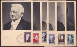 France N°930/935 - Carte Maximum - TB - 1950-59