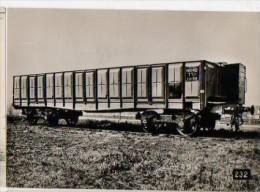 CP Du Museon Di Rodo - N° 695 - NORD Tombereau à Bogies Arbel 1905 à Guérite 1930 - Equipment