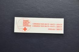 R 166 ++ POSTZEGELBOEKJE  PB RODE KRUIS MNH POSTFRIS - Carnets Et Roulettes