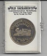 Medaille Zilver Old Sacramento - Jetons & Médailles