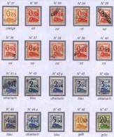 Colis Postaux, Petit Colis  Maury N° 65 / 81 17 Timbres + 3 Extras,  Ceux-ci  Ne Sont Pas évalués Vue Sans - Colis Postaux