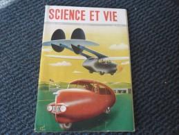 SCIENCE ET VIE De Février 1947 Les Aérautos (avions - Autos ) L'hélicoptère, Barrages Souterrains Illustration René Ravo - Sciences