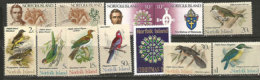 Année Complète 1971.   12 T-p Neufs ** Côte 60,00 € - Isla Norfolk