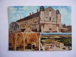 85 - Cpsm Grand Format - JARD SUR MER - Abbaye Royale N.D De LIEU-DIEU - France