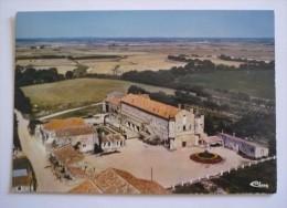 85 - Cpsm Grand Format - JARD SUR MER - Vue Aerienne  -  Abbaye Royale N.D De LIEU-DIEU - France