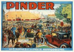 9400  PUB    PINDER   VIERGE VERSO - Werbepostkarten