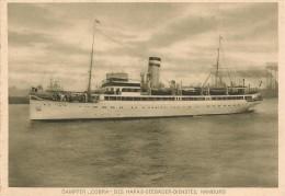 CPA-1920-PAQUEBOT-ALLEMAND-COBRA-Ligne HAMBOURG AMERIKA LINIE-TBE - Paquebots
