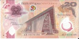 NOUVELLE GUINEE - 20 Kina Polymer Anniversaire 1975-2010 UNC - Papouasie-Nouvelle-Guinée