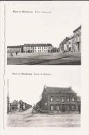MONT SUR MARCHIENNE PLACE COMMUNALE ET ROUTE DE BOMEREE - België