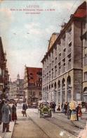 ALTE AK  LEIPZIG / Sachsen - Blick In Die Grimmaische Strasse - 1914 - Leipzig