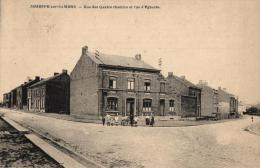 BELGIQUE - NAMUR - JEMEPPE-SUR-SAMBRE -Rue Des Quatre Chemins Et Rue D'Eghezée. - Jemeppe-sur-Sambre
